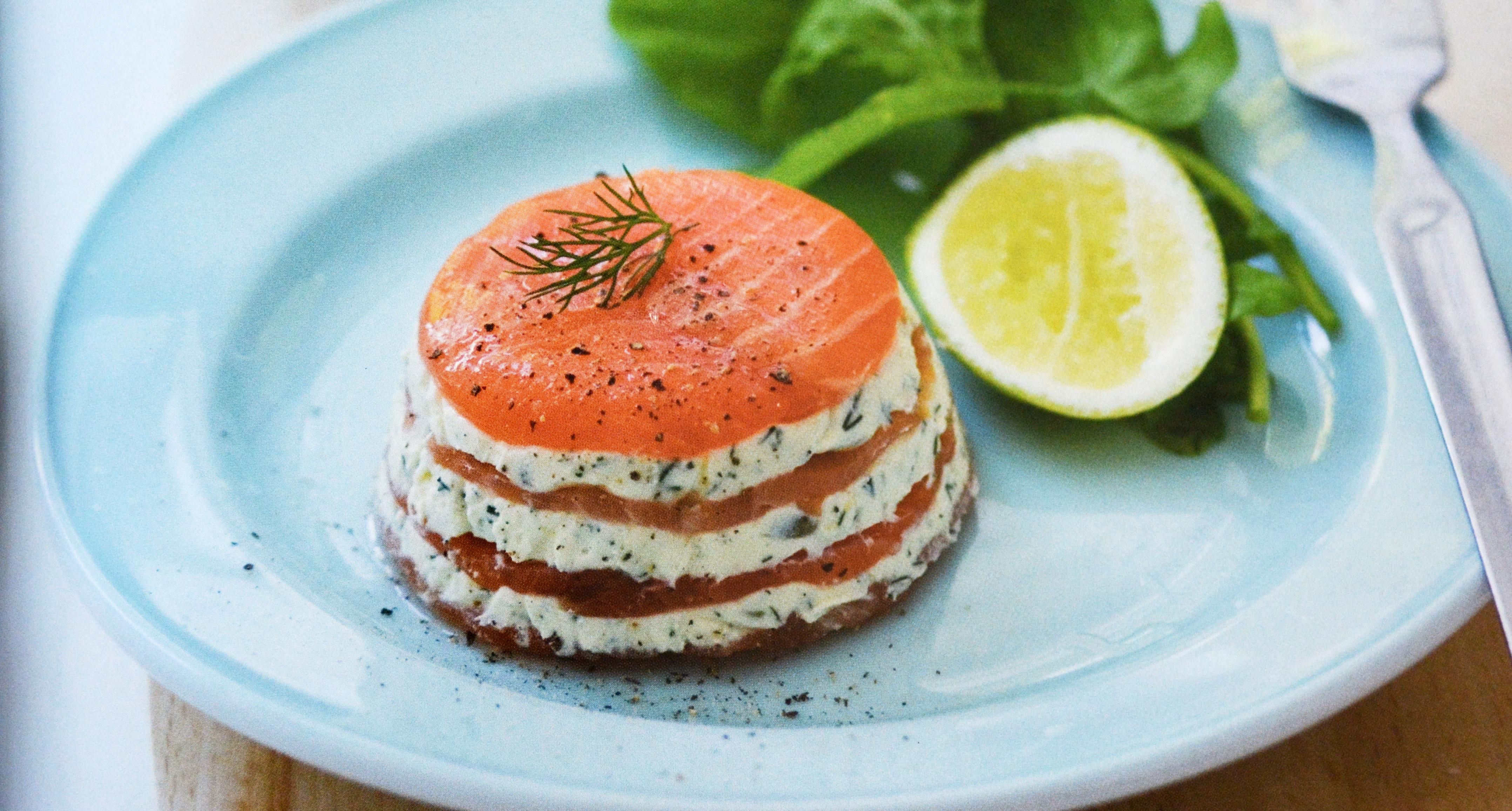 Cake Au Saumon Et Fromage